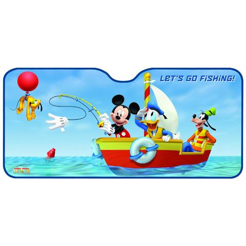 Accessori per il viaggio del bambino - Parasole anteriore millesfere Mickey Club House 26021 by Eurasia