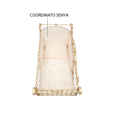 Piumoni - [C842] Patty - Coordinato Senya 4 pezzi in cotone ricamato Avorio by Feri3