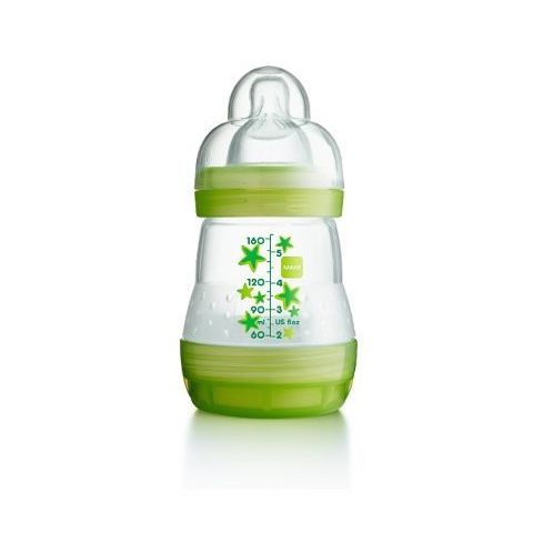 Biberon e succhiotti - First bottle - biberon autosterilizzante 160 ml - tett.mis.1 - neutro [21160-1656] by Mam