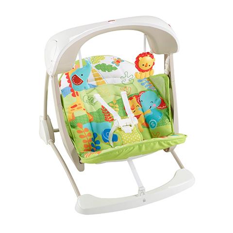 Altalene e dondolini - Baby Gear Seggiolino Altalena Salvaspazio CCN92 by Fisher Price