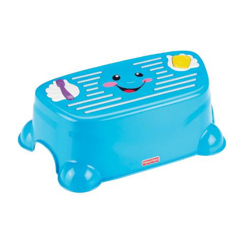 Accessori per l'igiene del bambino - Gino lo sgabellino buone maniere V7288 by Fisher Price