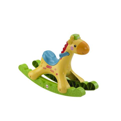 Giocattoli 6+ mesi - Raffa la dondolo-giraffa BBW07 by Fisher Price