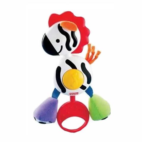 Giocattoli 0+ mesi - Sonaglini Snapper Zebra Musicale H9458 by Fisher Price