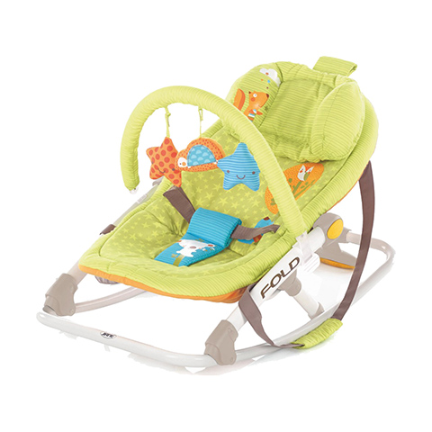 Swing Bouncer Rocker Chair Jan Fold S41 Animal Dots EBay