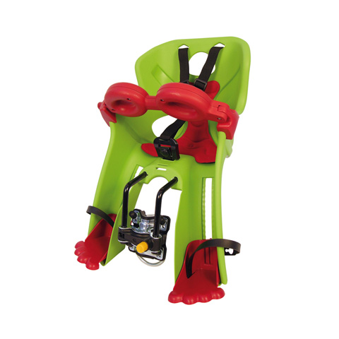Seggiolini bici - Seggiolino bici Kg15 aggancio sportfix Freccia 006 verde acido [01FRCS0006] by Bellelli