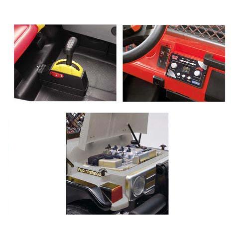 kinderauto elektroauto batterieauto 12v gaucho rock 39 in. Black Bedroom Furniture Sets. Home Design Ideas