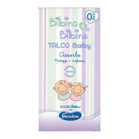Il cambio (pannolini, etc.) - Talco Baby in polvere - linea Bilbino e Bilbina 100 g [GIOK240] by Giordani