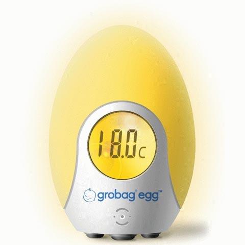 Sanitaria - Termometro da cameretta Grobag Egg HC133 by Grobag