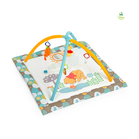 Giocattoli 0+ mesi - Palestrina gioco - Activity Center Winnie The Pooh Spring in wood Beige [77509] by Hauck