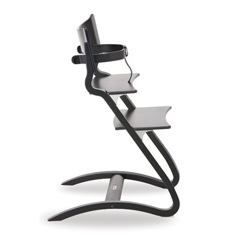 Seggioloni - High Chair Nero by Leander