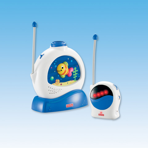 Baby Monitor / Interfono - Monitor Acquario Dolci Sogni con proiettore H7179 by Fisher Price