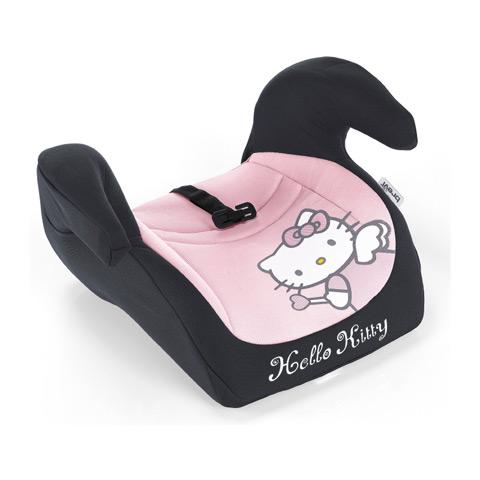 Seggiolini auto Gr.2/3 [Kg. 15-36] - Booster Plus - Hello Kitty 022 rosa by Brevi