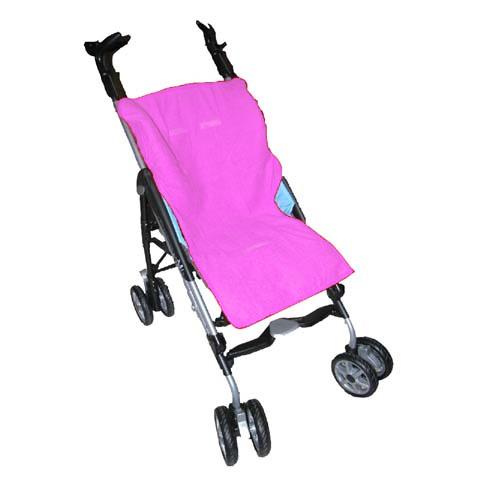 Accessori per il passeggino - Copri passeggino in spugna Rosa by Tecno Baby