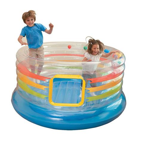 Casette, altalene, scivoli, piscine - Jump-O-Lene trasparente 482641 by Intex