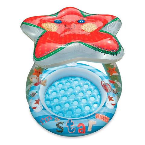 Casette, altalene, scivoli, piscine - Piscina Baby Stella con parasole 574285 by Intex