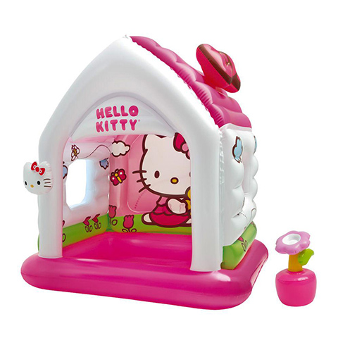 Casette, altalene, scivoli, piscine - Casetta gonfiabile Hello Kitty 486311 by Intex