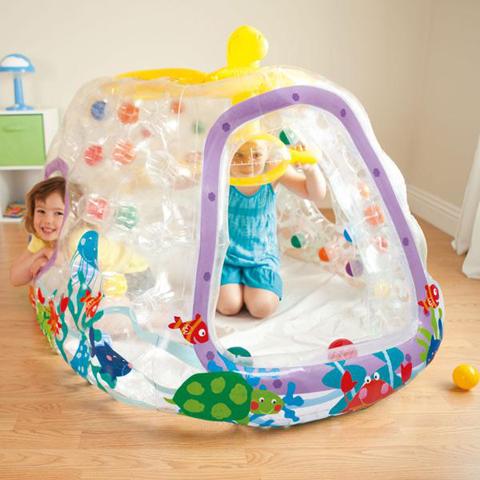 Casette, altalene, scivoli, piscine - Sottomarino trasparente 486649 by Intex