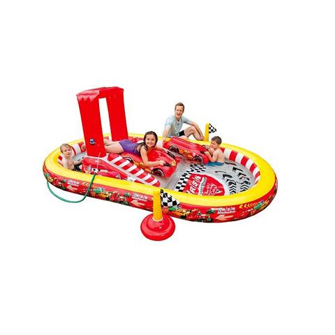 Casette, altalene, scivoli, piscine - Playground Cars 571345 by Intex