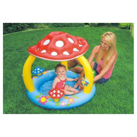 Casette, altalene, scivoli, piscine - Piscina Baby Fungo 574070 by Intex