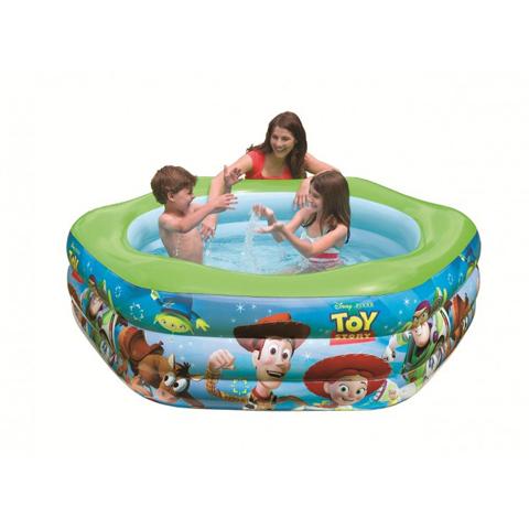 Casette, altalene, scivoli, piscine - Piscina esagonale - Toy Story 574902 by Intex