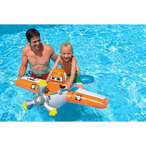 Casette, altalene, scivoli, piscine - Cavalcabile Planes 575329 by Intex