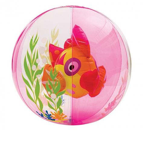 Casette, altalene, scivoli, piscine - Pesce Palla - pallone gonfiabile 580316 rosa by Intex