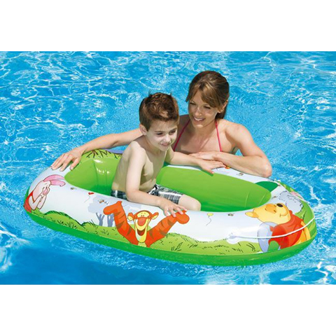 Casette, altalene, scivoli, piscine - Canottino Winnie 583942 by Intex