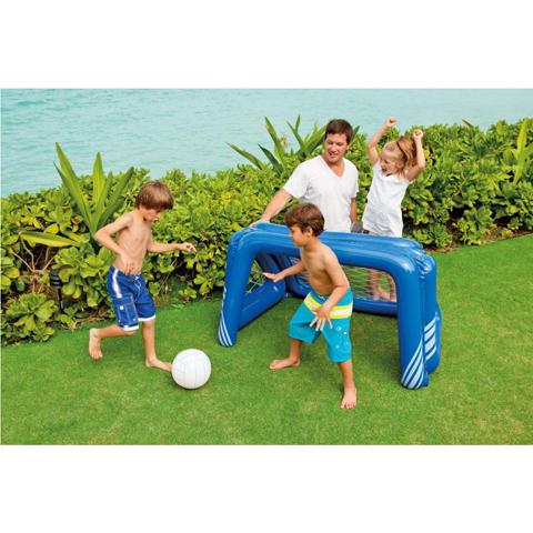 Casette, altalene, scivoli, piscine - Gioco calcio e pallanuoto gonfiabile 585076 by Intex
