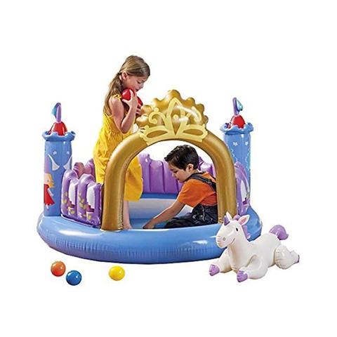 Casette, altalene, scivoli, piscine - Castello gonfiabile con palline 486694 by Intex