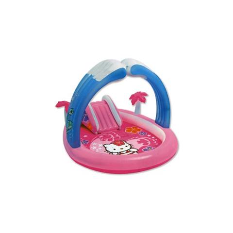 Casette, altalene, scivoli, piscine - Playground Hello Kitty 571376 by Intex