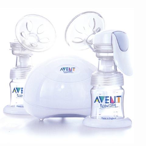Allattamento e svezzamento - Tiralatte elettronico doppio 7092 SCF314/02 by Avent