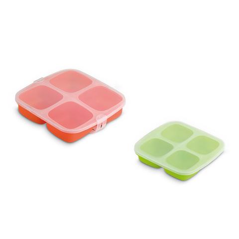 Allattamento e svezzamento - Set 2 vassoi per congelare gli alimenti del bimbo 10234 by Jane