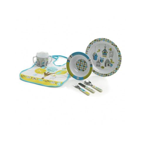 Stoviglie decorate - Set stoviglie in melamina [crockery set] 70199 chromatic line by Jane