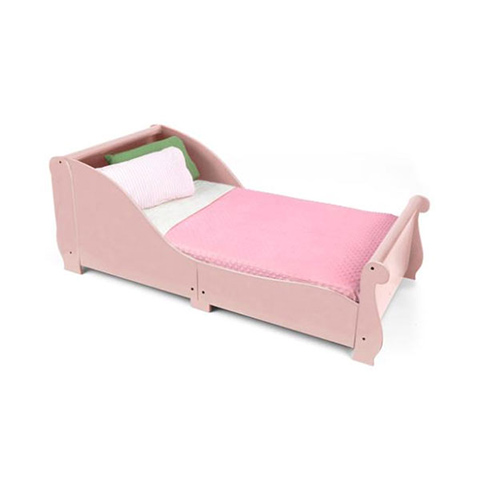 Lettini - Letto Slitta Rosa [86735] by KidKraft