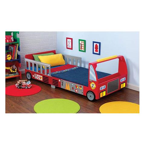 KidKraft Letto Camion dei pompieri Rosso 76031  eBay