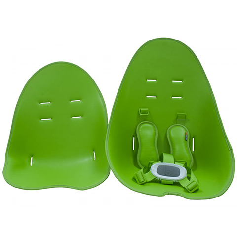 Ricambi per prodotti per la pappa - kit rivestimento per seggiolone Fresco [large + small] Gala Green by Bloom