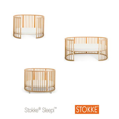 Accessori per Lettini - Kit di allungamento culla in lettino Sleepi naturale [4221901] by Stokke