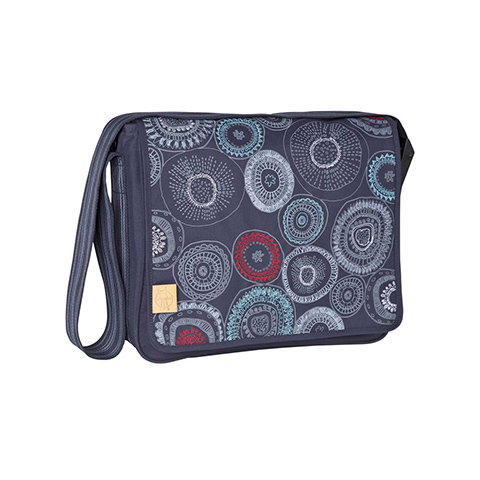Borse - Casual Messenger Fossil navy [LMB10303135] by Laessig