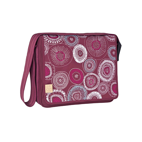 Borse - Casual Messenger Fossil rumba red [LMB18282135] by Laessig