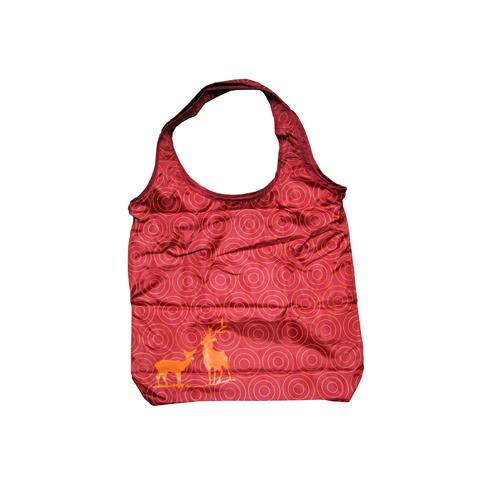 Borse - Borsa Shopper red (flock) by Laessig