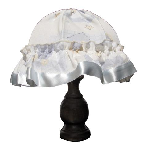 Abbigliamento e idee regalo - Lume da tavolo in legno e tessuto Reve by Ruggeri