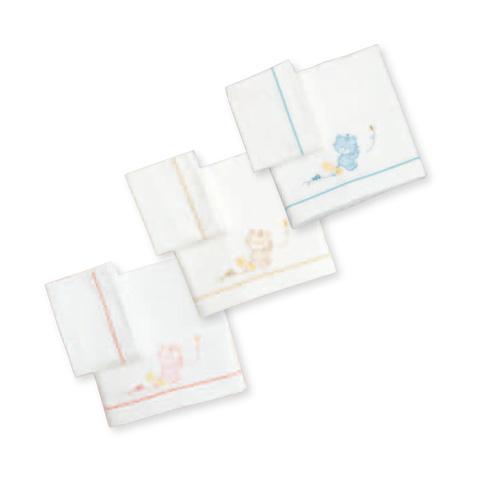 Coperte, lenzuolini e paracolpi - Completo 3 pz. lenz. carrozzina ricamato - Lilly 080 panna by Somma