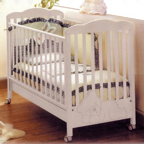 Offerte in corso - Set lettino Coccolo + cass.fasc. Baby Coccolo Sbiancato by Baby Expert