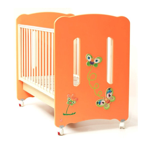 Lettini - Family Arancio by NCR arredo baby