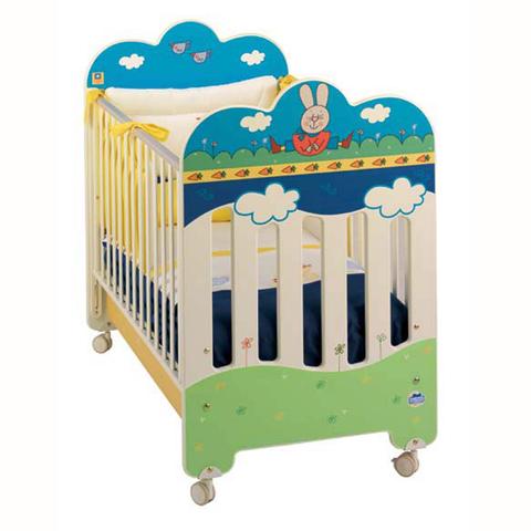 Lettini - Lettino Giulio Coniglio Multicolor [ad es.] by Baby Expert