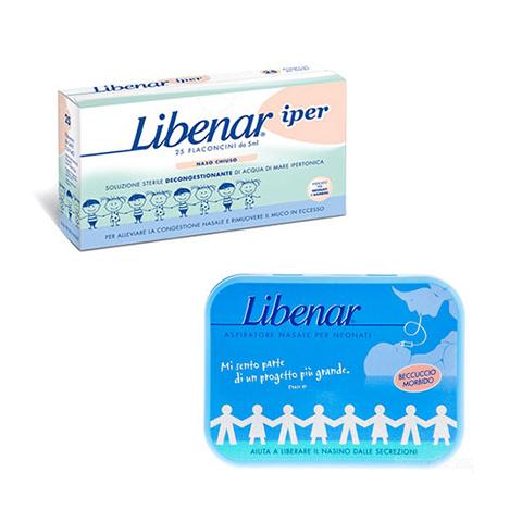 Prodotti igiene personale - 25 Flaconcini monodose decongestionanti + aspiratore 25 Flaconcini + aspiratore [31422] by Libenar