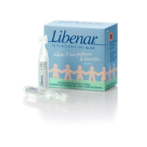 Libenar 15 Flaconcini Isotonici per Igiene Quotidiana
