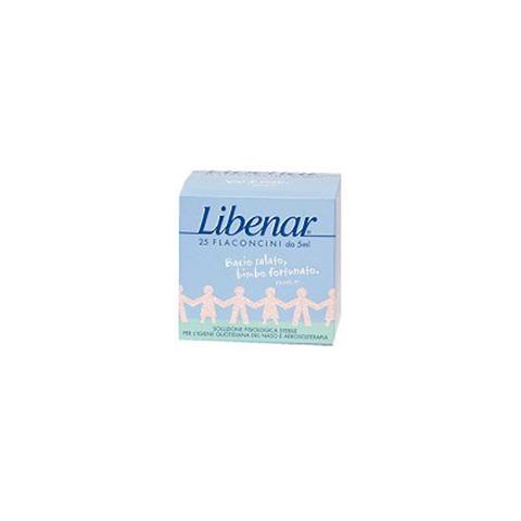 Libenar 25 Flaconcini Isotonici per Igiene Quotidiana