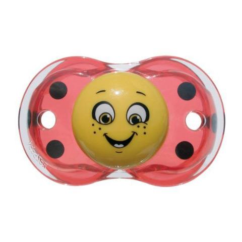 Biberon e succhiotti - Keep-it-Clean - il ciuccio sempre pulito Lola Ladybug Red [LB 6300 - 007LB] by Raz Baby