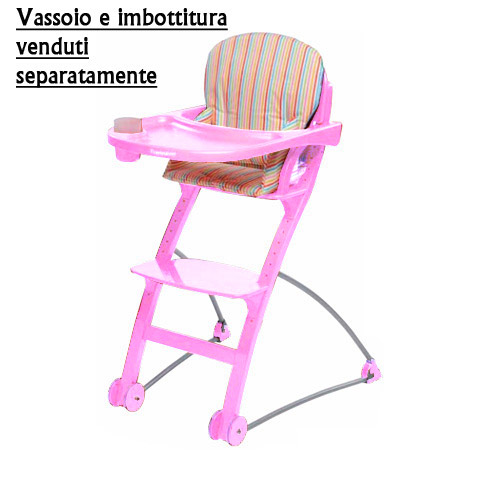 Seggioloni - Lu-Lu rosa by Foppapedretti